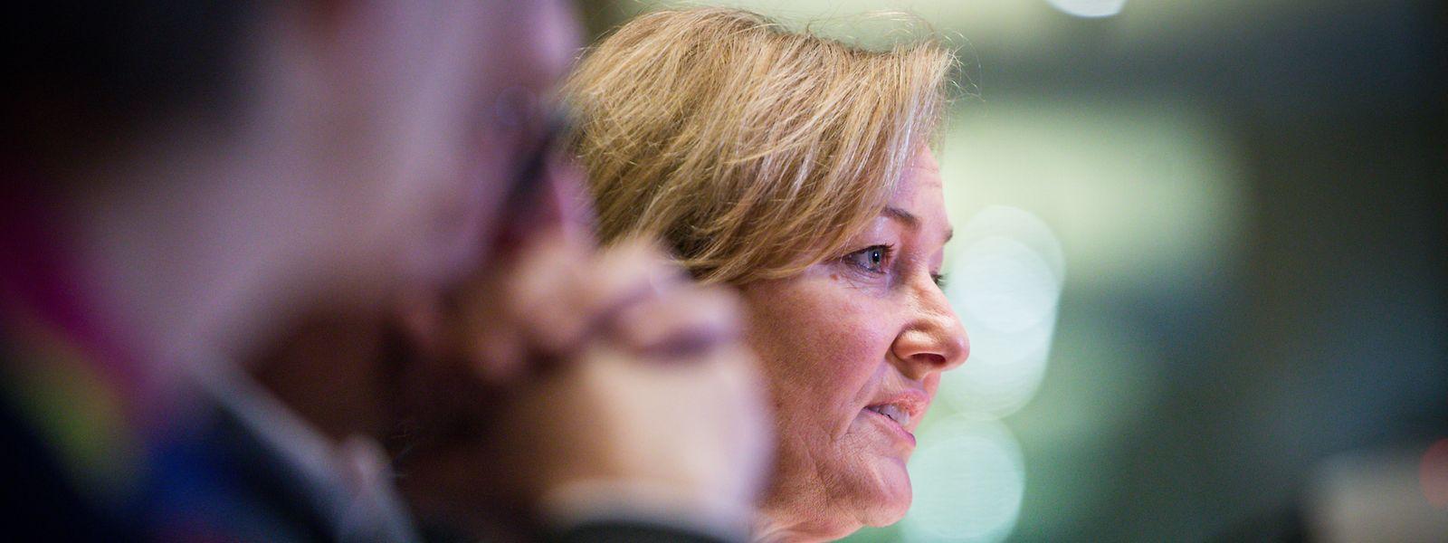 Paulette Lenert a fait le point sur la hotline coronavirus devant les députés