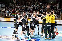 HB Esch / Handball, Coupe de Luxembourg Maenner, Finale, HB Duedelingen - HB Esch / Luxemburg / 02.03.2019 / Foto: Christian Kemp