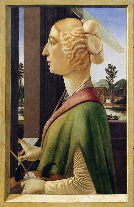 """Botticellis """"Bildnis einer Dame"""" ist Teil der Sonderschau."""