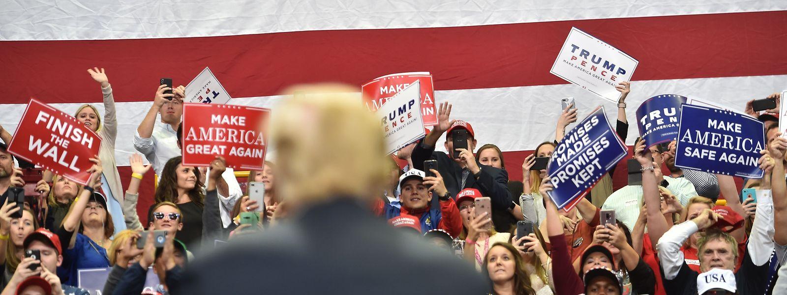 Die Midterms sind auch ein Stimmungsbarometer zu US-Präsident Donald Trumps Politik.