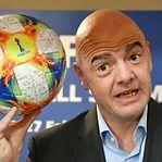 FIFA irradia oito jogadores