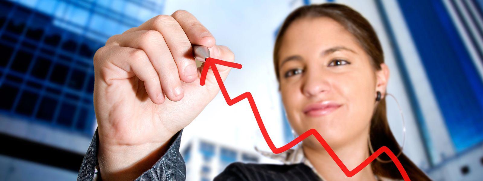 Im letzten Quartal gab es den höchsten Anstieg der Erwerbstätigen seit mehr als zehn Jahren.