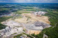 Industriebrachen Süden -   Crassier Differdange - - Foto: Pierre Matgé/Luxemburger Wort