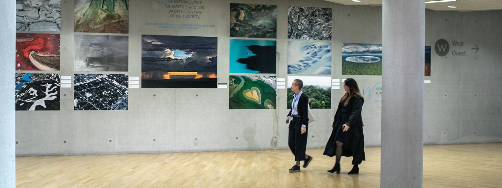 Ausstellung in der Europäischen Investitionsbank.