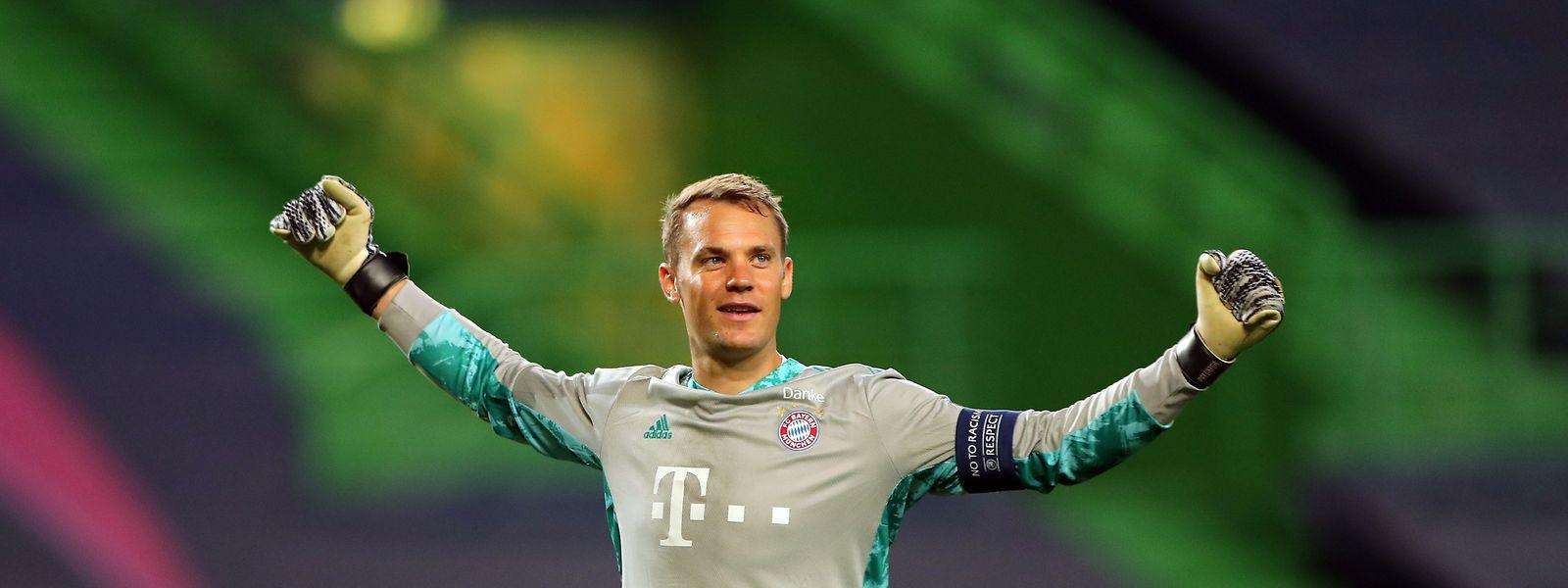 Der FC Bayern setzt im Tor auf die Erfahrung von Manuel Neuer.
