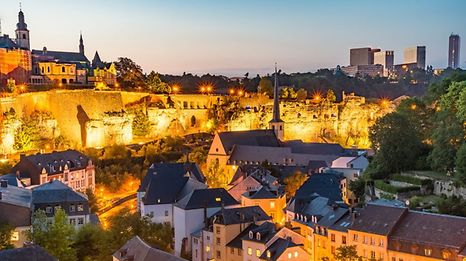 Ahh, Luxembourg ... it feels like a comfortable pair of slippers.