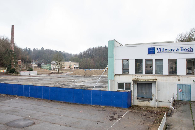 Die Abrissarbeiten der einstigen Fabrikhallen sind weit fortgeschritten.