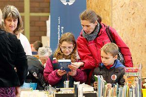 Na feira do livro de Walferdange há livros para pequenos e graúdos