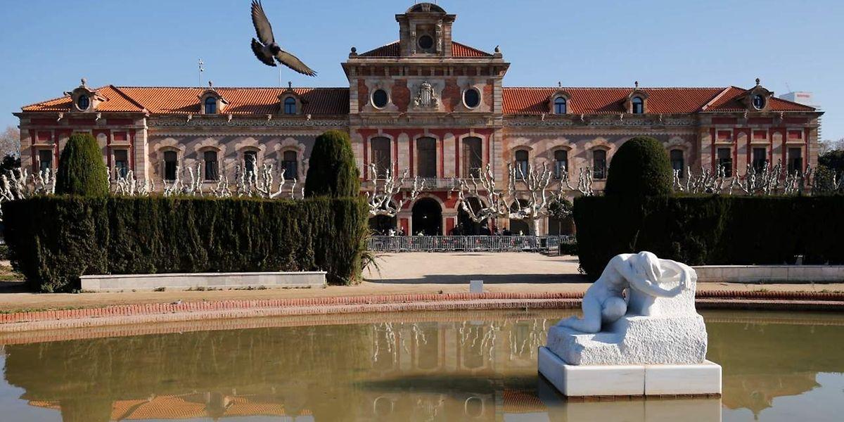 Das Parlamentsgebäude in Barcelona.
