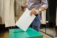 Wahlen 2018 - Wahbüro Mamer - Photo : Pierre Matgé