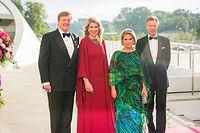 Staatsbesuch Niederlande - Empfang LLMM zu Ehren von LLAARR, Philharmonie, Foto Lex Kleren