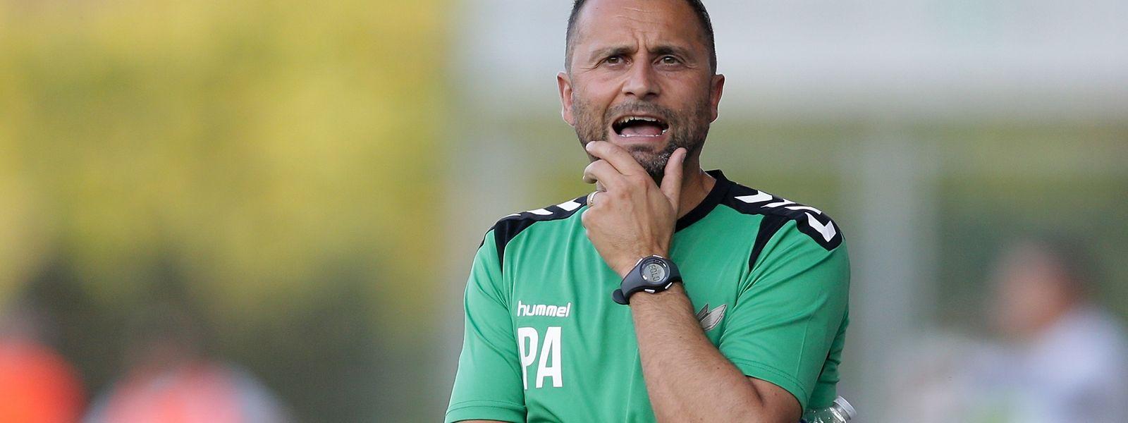 Progrès-Trainer Paolo Amodio hofft, dass seine Spieler eine Reaktion zeigen.
