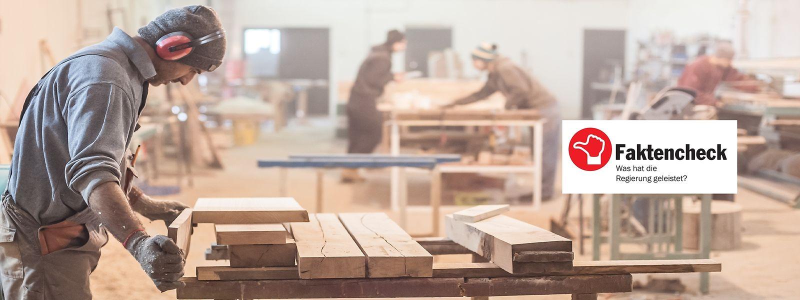Von den 99 Maßnahmen für kleine und mittlere Unternehmen müssen viele noch in Gesetzesform gebracht werden.