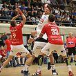 Malvin Patzack (HB Dudelange - 13) / Handball Sales Lentz Handball League, 5. Spieltag Herren Titel Playoff Saison 2017-2018 / 04.11.2017 / Red Boys - HC Berchem / Centre Sportif d'Oberkorn / Foto: Yann Hellers