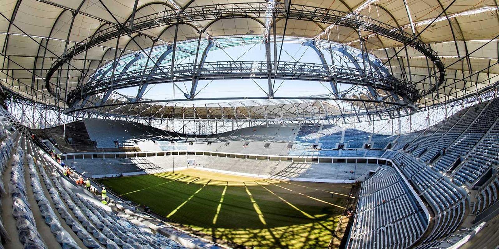 Volgograd Arena (45.000 places). Matchs disputés (4): Tunisie - Angleterre (18 juin), Nigeria - Islande (22 juin), Egypte - Arabie Saoudite (25 juin), Japon - Pologne (28 juin).   .