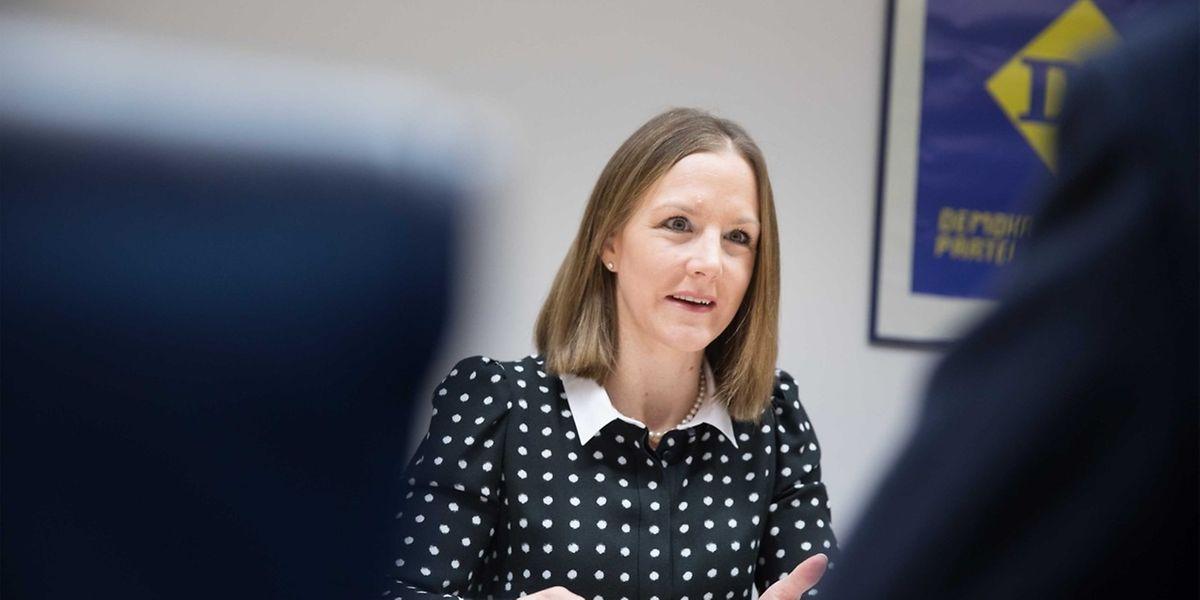 Joëlle Elvinger ist die erste Frau, die nach 2008 zur Budget-Berichterstatterin ernannt wurde.