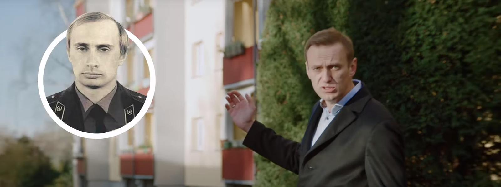 Alexej Nawalny beginnt seine Recherchen in Dresden, an alter Wirkungsstätte des jungen Wladimir Putin.