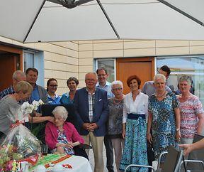 MARIE CORDIER-HAAN huet 101 Joer gefeiert