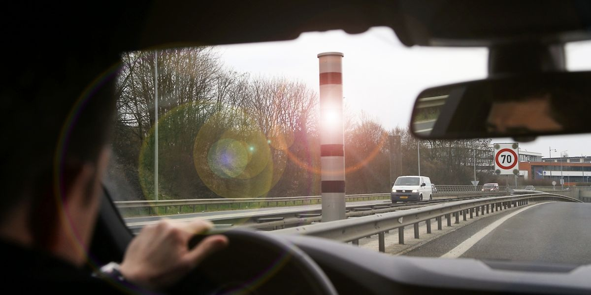 Das Radargerät auf der A4 zählte am Mittwoch zu den aktivsten.