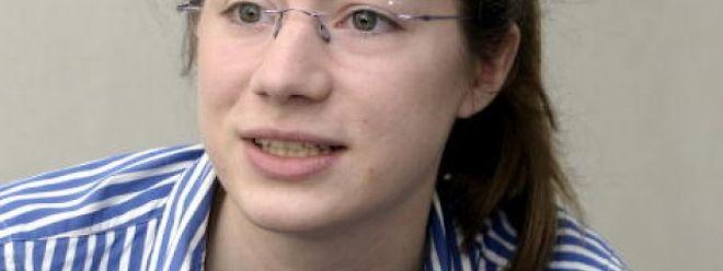 Véronique Bruck (20) studiert Jura und Philosophie in Paris und kandidiert auf der Europaliste der DP.