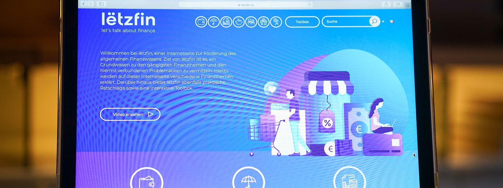 """Die Website """"Lëtzfin.lu"""" wurde vor einem Jahr geschaffen und wird aktuell von mehr als 1.000 Gästen im Monat besucht, wie die Finanzaufsicht CSSF erklärt."""