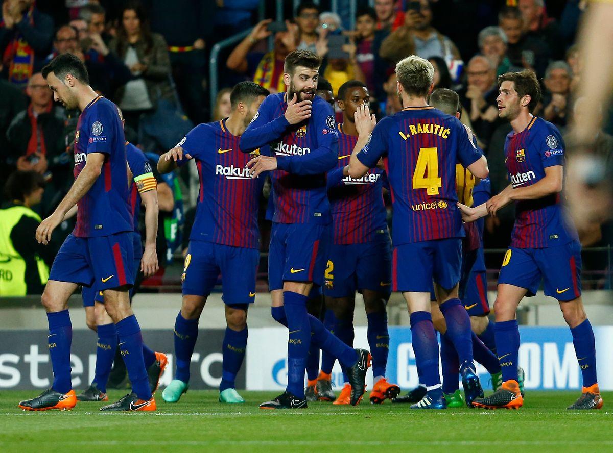 Leicht und locker besiegte der FC Barcelona seine Gäste aus Rom.