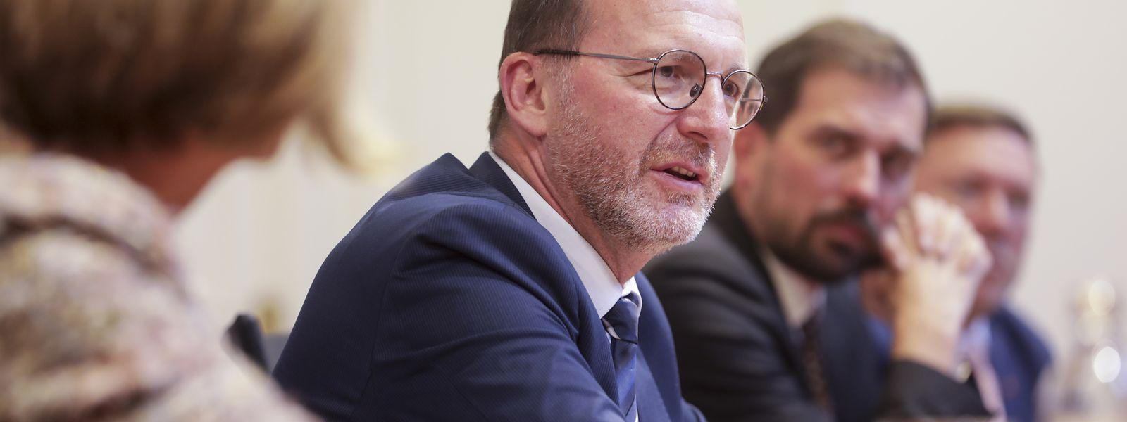 LSAP-Fraktionschef Georges Engel stellte am Mittwoch die Prioritäten seiner Partei für die kommenden Monate vor.