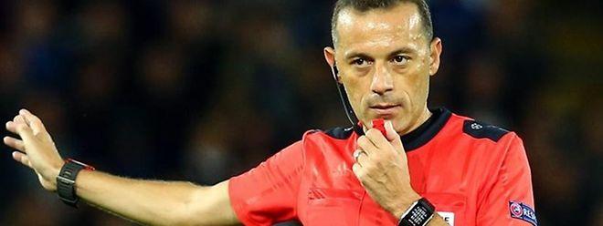 Cüneyt Çakir vai dirigir o jogo entre Sérvia e Portugal, no sábado, em Belgrado.