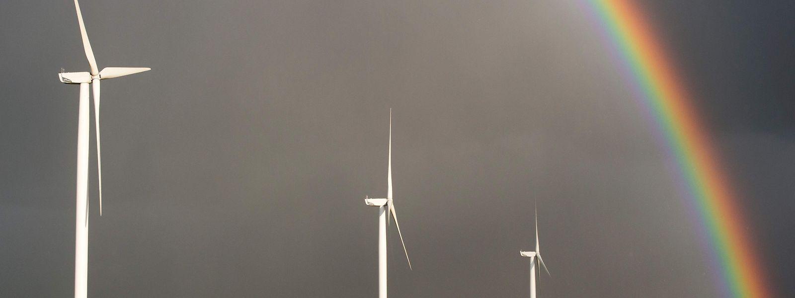 An der Windkraft scheiden sich in Frankreich die Geister.
