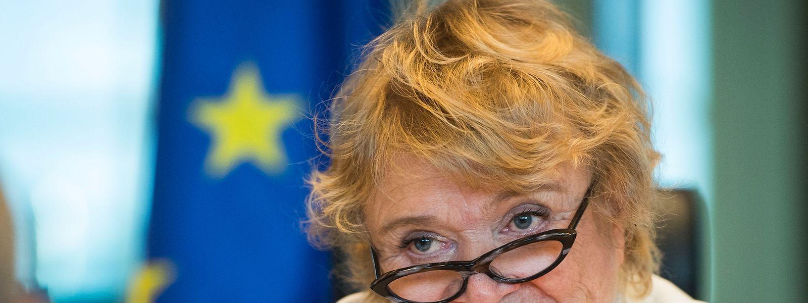 Eva Joly est membre du Parlement européen depuis 2009.