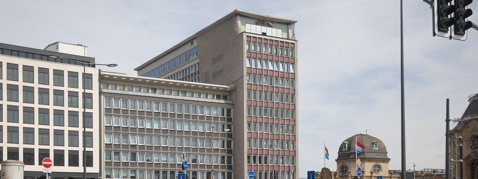 Der Gebäudekomplex auf der Place de Gare wurde 1960 eingeweiht.