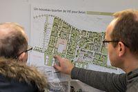 Projet de reconversion du quartier de la route d'Arlon