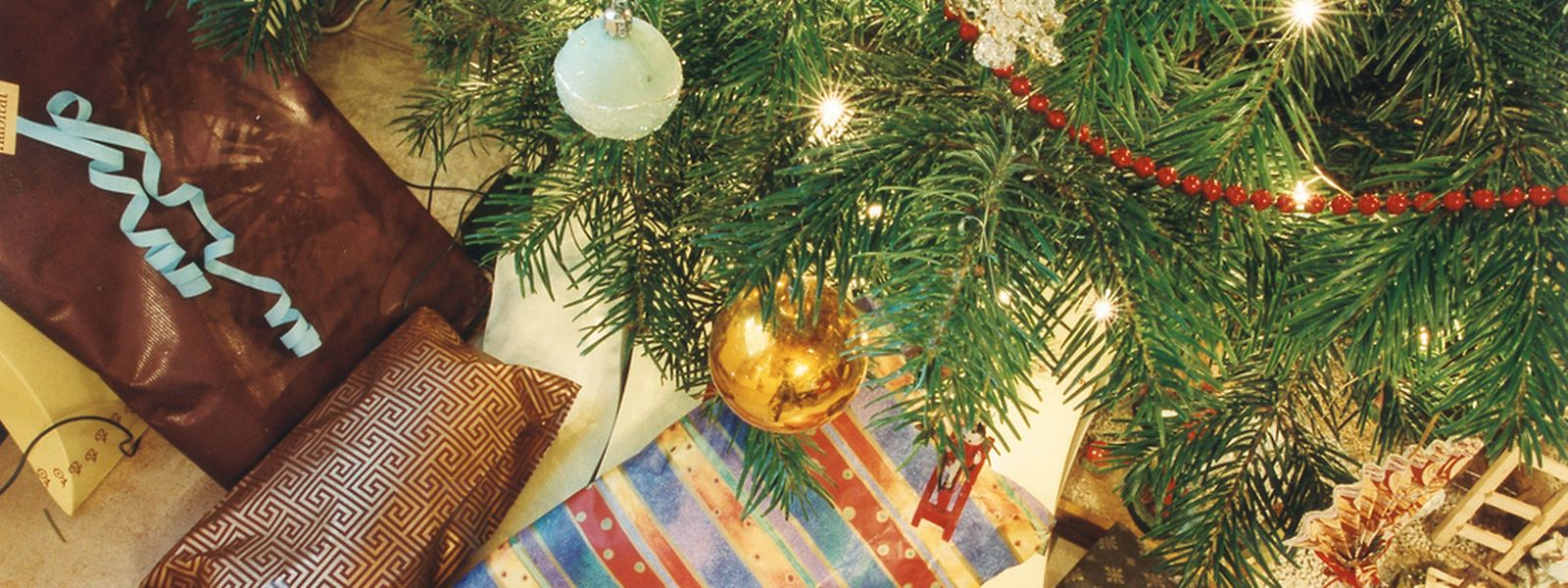 Weihnachtsdeko kann man leicht selber basteln.
