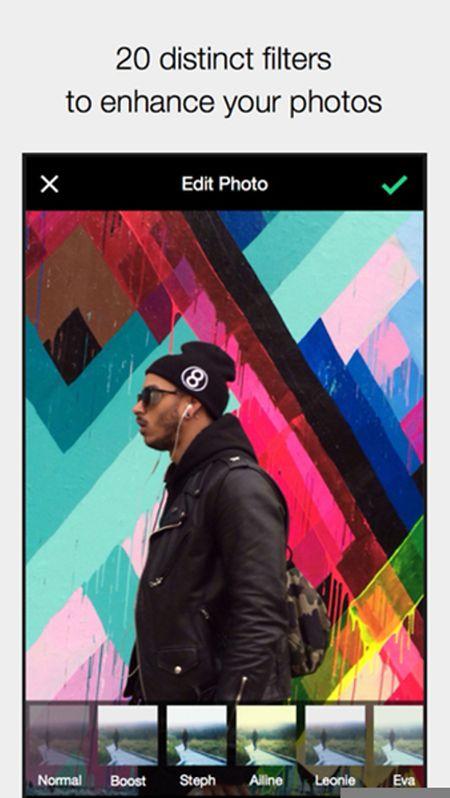 EyeEm erlaubt auch das einfache Teilen von Bildern. Die Software für iOS und Android ist kostenlos.