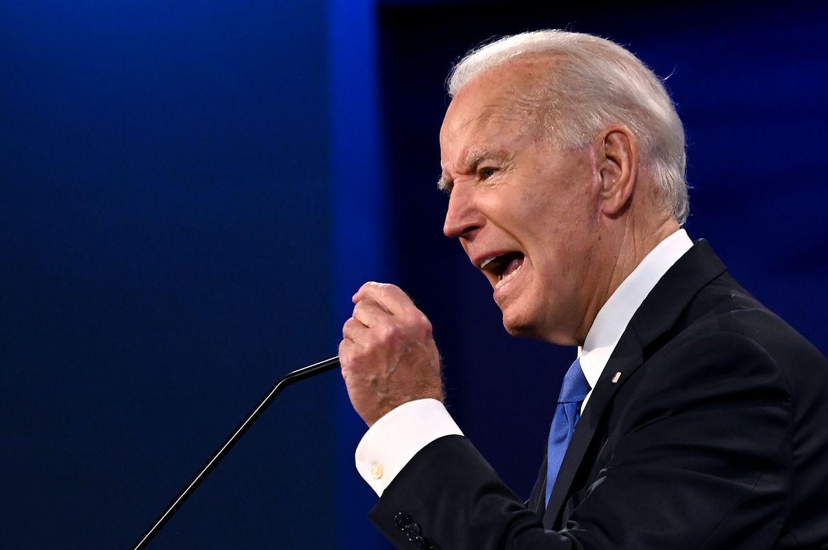 Joe Biden forderte seinen Gegner auf, seine Steuererklärung vorzulegen.