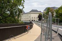 Lokales, Radweg passerelle, piste cyclable, foto: Chris Karaba/Luxemburger Wort