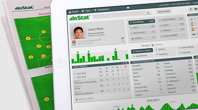Über Lionel Messi und die internationalen Fußballer findet man auf Internetseiten wie instatfootball.com alle Informationen.