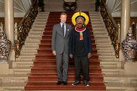 Rencontre entre le grand-duc Henri et le chef indigène brésilien Raoni Metukire au Luxembourg ce lundi