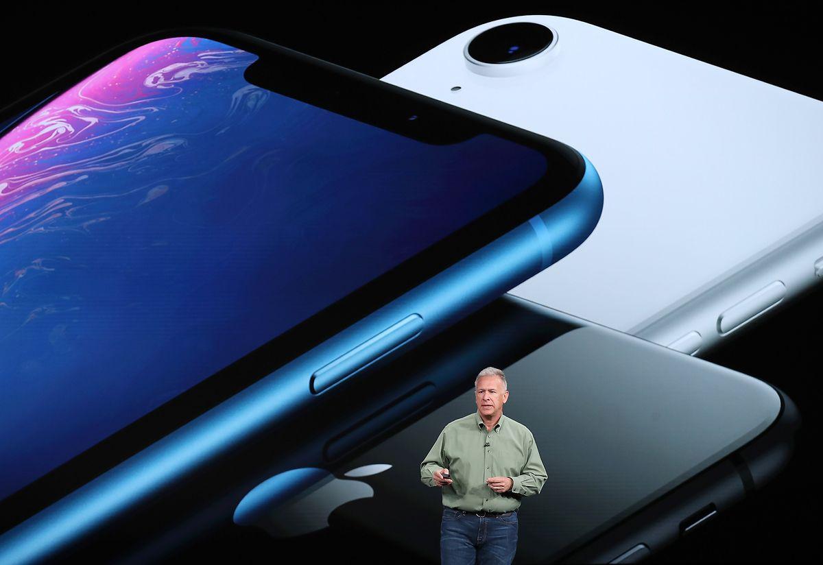 Das neue iPhone Xr wird es unter anderem auch in Blau geben.