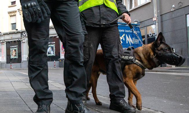 Private security in Gare quarter