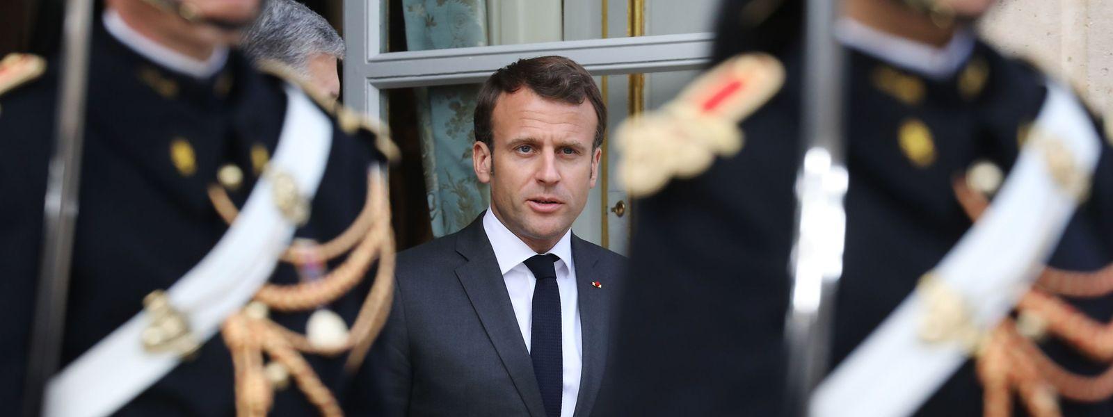 Nach monatelangen Gelbwesten-Protesten wird Emmanuel Macron am Montagabend Zugeständnisse ankündigen.