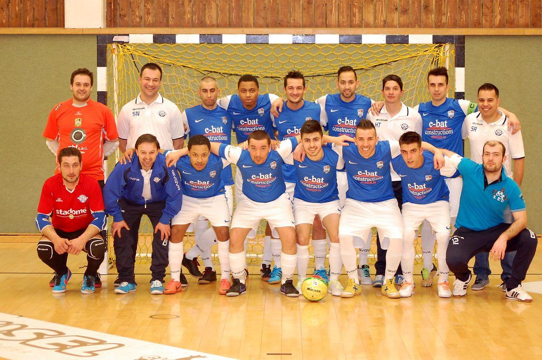 L'équipe de l'US Esch.
