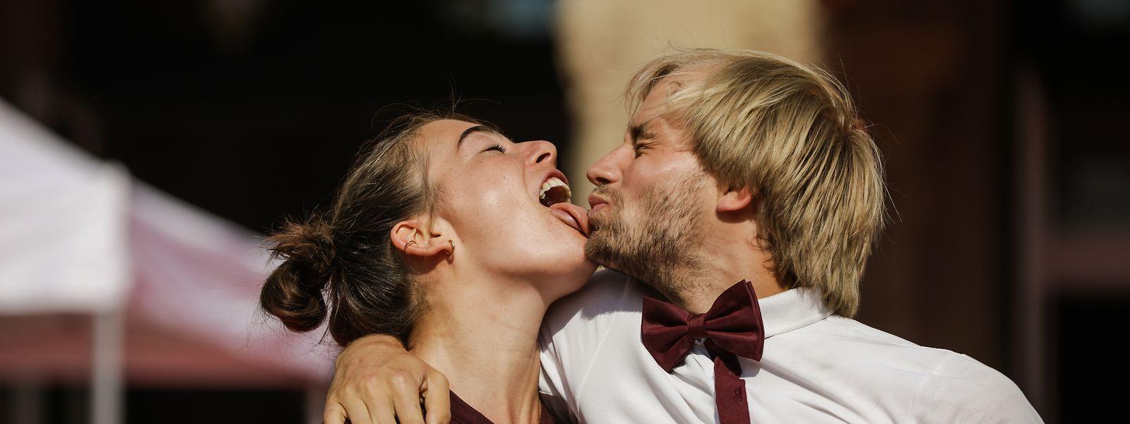 Mara Daro und ihr Partner Ole Schöne waren Anfang August auch beim hauptstädtischen Streeta(rt)nimation zu sehen.