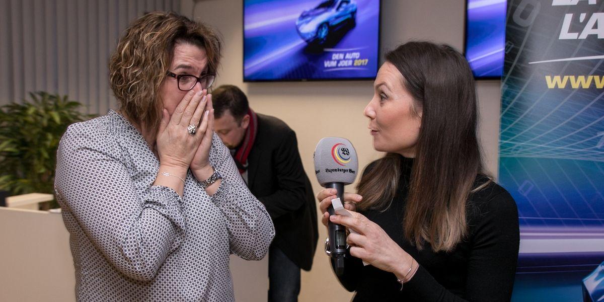 Die Gewinnerin des Hauptpreises, Christiane Schreurs und Mélanie Picazo (Régie.lu)
