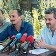 Déi Lénk - David Wagner, Marc Baum und Serge Urbany (v.r.n.l.) - bezeichnen sich als einzig wahrhaftige politische Oppositionspartei mit Gestaltungskraft.
