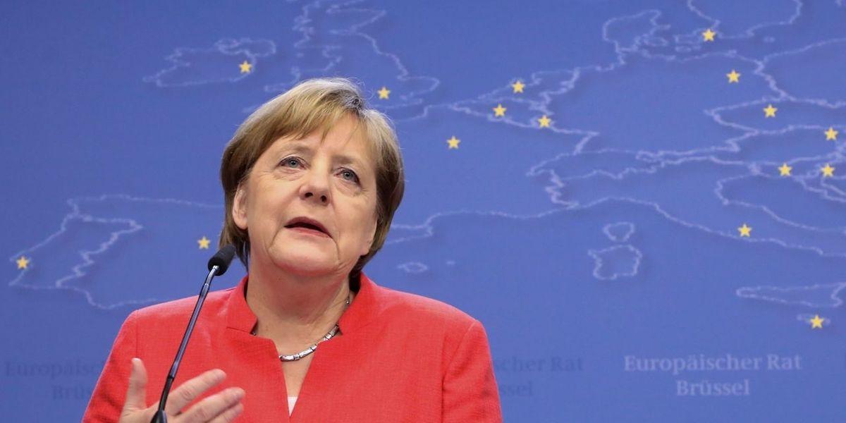 Die Kanzlerin machte deutlich, dass sich an ihrer Grundeinstellung zur Asylfrage nichts geändert habe.