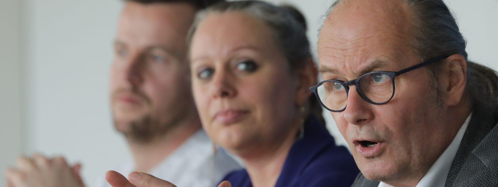 Claude Turmes et Carole Dieschbourg ont présenté les nouveaux axes de la politique climatique.