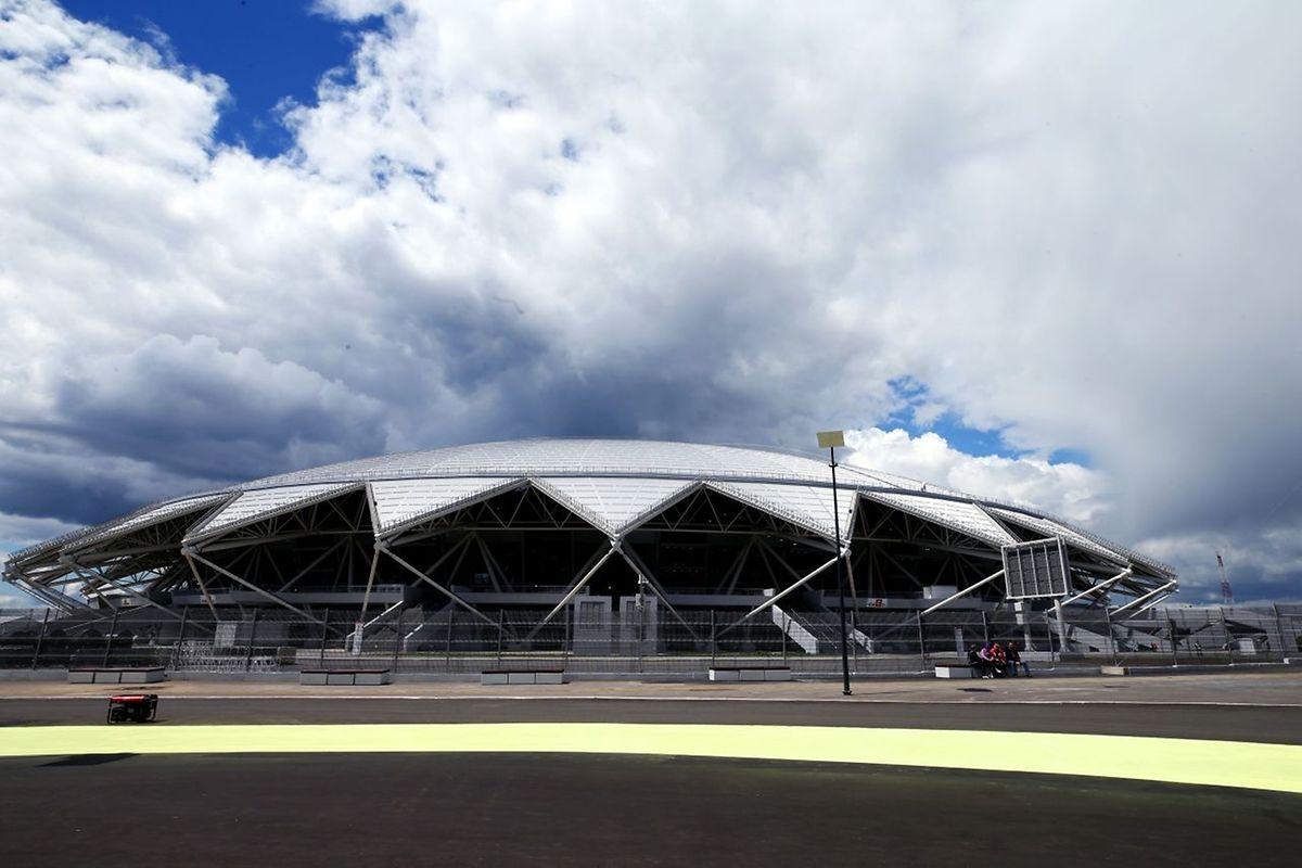 Samara Arena (45.000 places). Matchs disputés (6): Costa Rica - Serbie (17 juin), Danemark - Australie (21 juin), Uruguay - Russie (25 juin), Colombie - Sénégal (28 juin), un huitième de finale (2 juillet), un quart de finale (7 juillet).