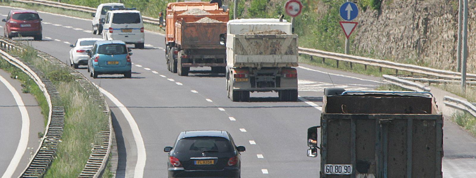 Das Verkehrsaufkommen verursacht den Löwenanteil der CO2-Emissionen in Luxemburg.