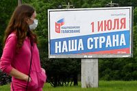 Am Donnerstag soll die Volksabstimmung für die Verfassungsänderung in Russland beginnen.